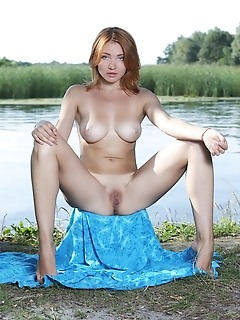 Kika sultry kika flaunts her tanned body and sweet tits outdoors.