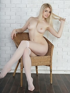 Adorable nude girl